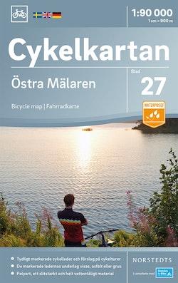 Cykelkartan Blad 27 Östra Mälaren : Skala 1:90.000