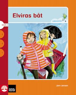 Läshoppet Nivå 4 - Elvira, 4 titlar