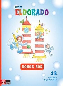 Eldorado, matte 2B Bonus röd, 5-pack
