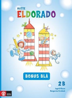 Eldorado, matte 2B Bonus blå, 5-pack