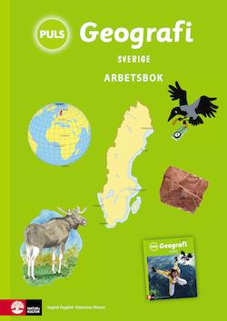 PULS Geografi 4-6 Sverige Arbetsbok, tredje upplagan