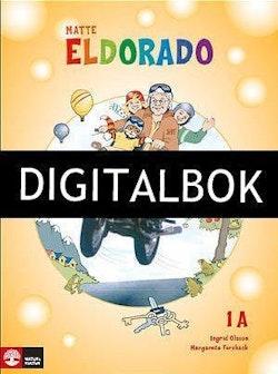 Eldorado, matte 1A Grundbok Digitalbok ljud