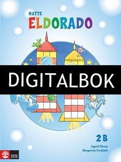 Eldorado, matte 2B Grundbok Digitalbok ljud