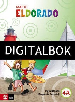 Eldorado, matte 4A Grundbok Digitalbok ljud