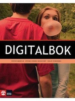 Svenska i dag Övningsbok 8 Digitalbok ljud