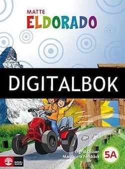 Eldorado, matte 5A Grundbok Digitalbok ljud