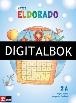 Eldorado, matte 2A Grundbok Digitalbok ljud