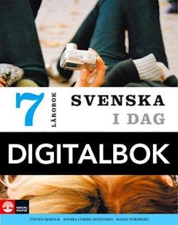 Svenska i dag 7 Lärobok Digital