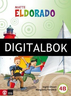 Eldorado, matte 4B Grundbok Digitalbok ljud