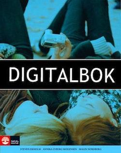 Svenska i dag Övningsbok 7 Digitalbok ljud