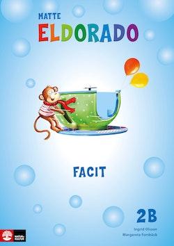 Eldorado matte 2B Facit, andra upplagan