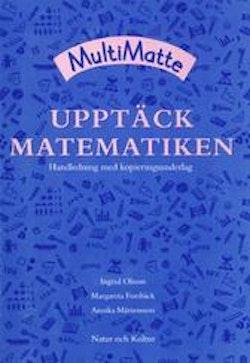 MultiMatte FK Upptäck matematiken, handledning med kopieringsunderlag