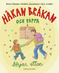 Håkan Bråkan och pappa börjar ettan