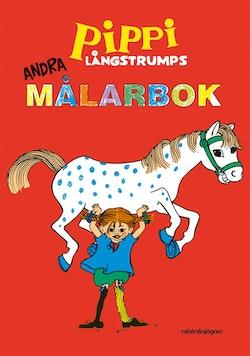 Pippi Långstrumps andra målarbok