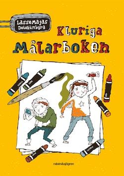 Kluriga målarboken : LasseMajas detektivbyrå