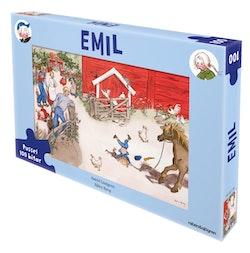 Emil i Lönneberga - Pussel : 100 bitar