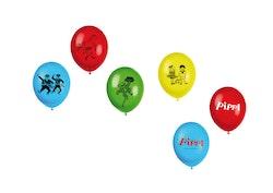 Pippi - Ballonger : Kalaskit - 8-pack