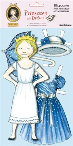Klippdocka Månstråle : Prinsessor och Drakar