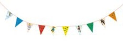 Pippi - Flaggspel : Kalaskit - 10 flaggor, 4 meter