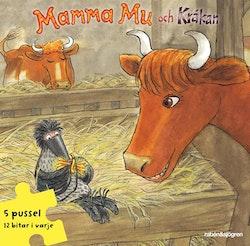 Mamma Mu och Kråkan Pusselbok : 5 pussel med 12 bitar i varje