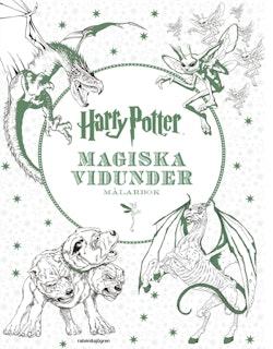 Harry Potter - Magiska vidunder Målarbok
