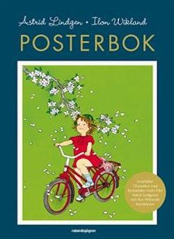 Posterbok: Astrid Lindgren och Ilon Wikland : 10 klassiska bilder att riva ut och rama in