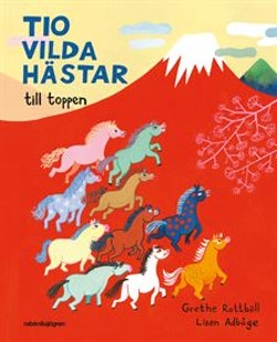 Tio vilda hästar till toppen