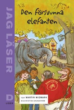 Jag läser D Den försvunna elefanten