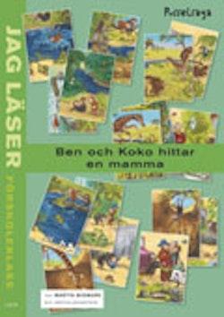 Jag läser - förskoleklass - Ben och Koko hittar en mamma - en pusselsaga