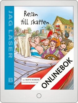 Jag läser B Resan till skatten Onlinebok Grupplicens 12 mån