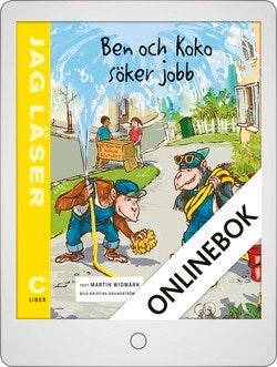 Jag läser C Ben och Koko söker jobb Onlinebok Grupplicens 12 mån