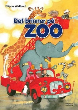 Det brinner på zoo