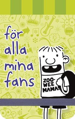 Dagbok för alla mina fans : miniblock Rowley