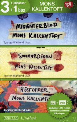 Mons Kallentoft 3 i 1 box