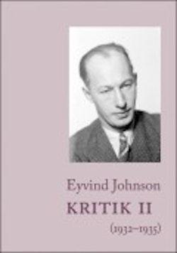 Kritik. 2, 1932-1935