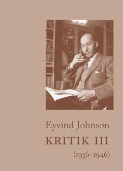 Kritik III (1936–1946)