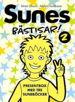 Sunes Bästisar. Sune och den tokiga teatern ; Sunes party ; Läskigt, Sune!