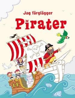Jag färglägger: Pirater