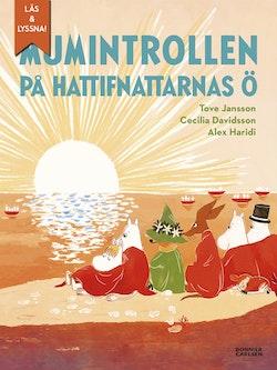 Mumintrollen på hattifnattarnas ö (e-bok + ljud) : Från sagosamlingen